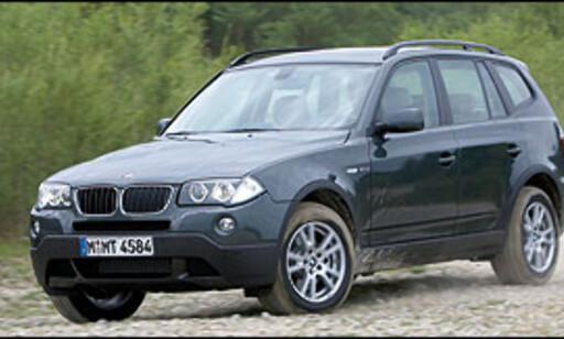 image: BMW X3 med kraftigere innstegsdiesel
