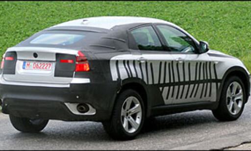 image: BMW X6 nesten avkledd