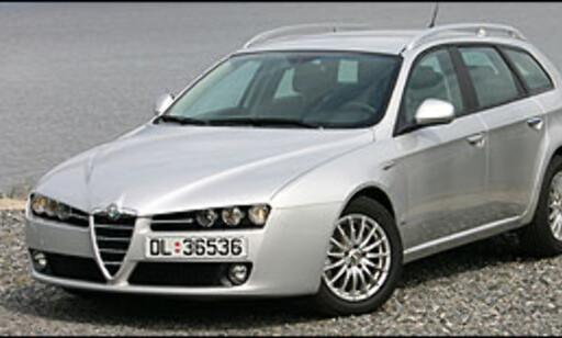 image: Alfa Romeo 159 klar for vinteren