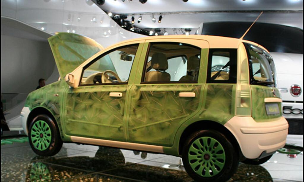 Miljøkonseptet Fiat Panda Aria