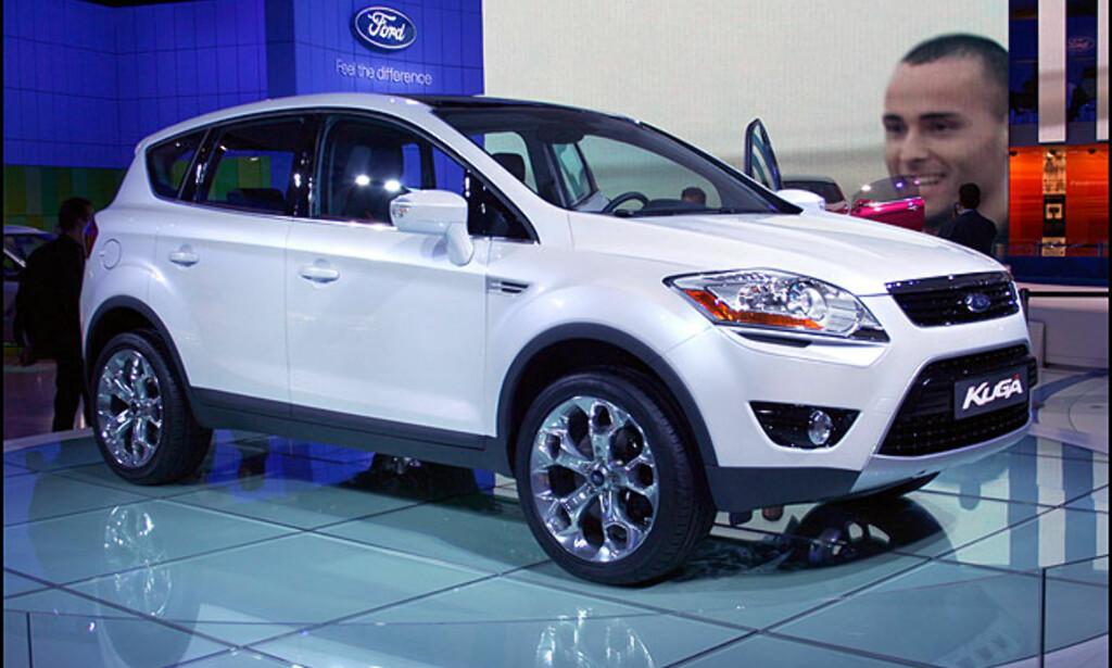 Fords nye kompakt-SUV, Kuga.