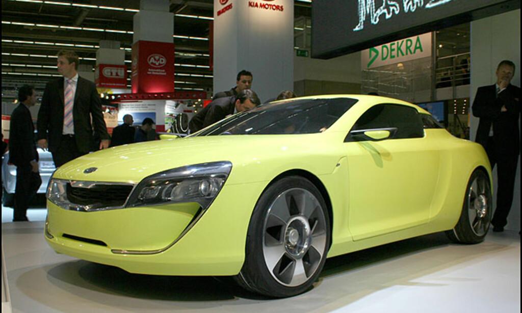 Kia Kee: Sportsbilkonsept. Det kommer nok en produksjonsversjon.