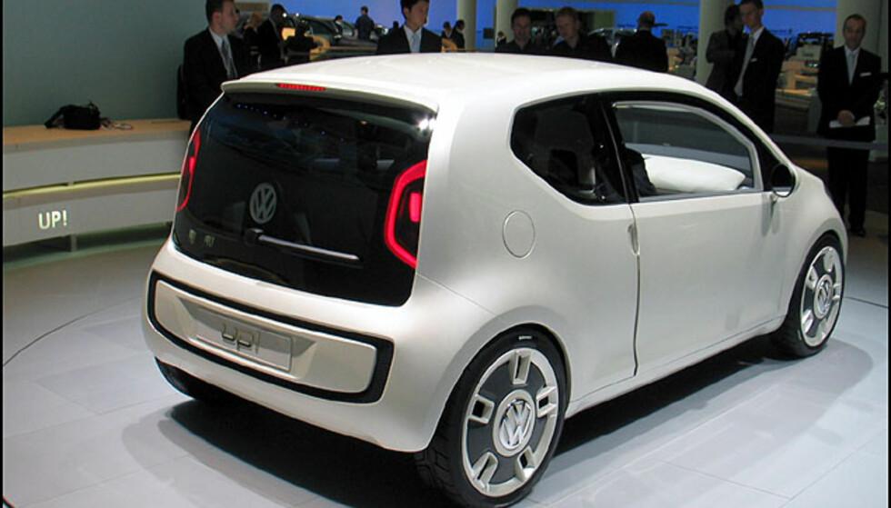 VW Up! Billig-konsept med hekkmotor...