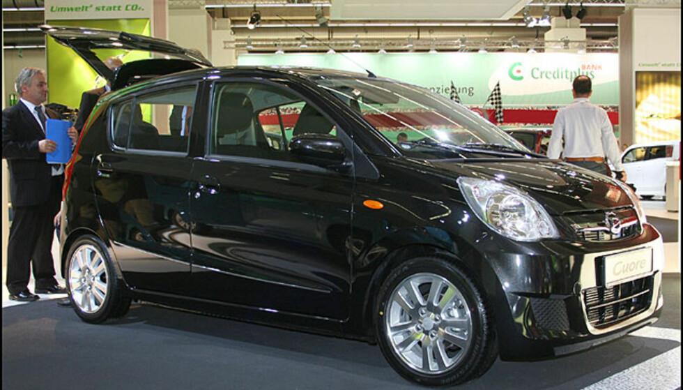 Mini-utslippsbilen Daihatsu Cuore