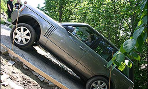 image: Land Rover terrengkjøring