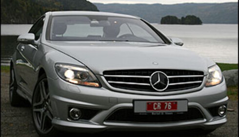 TEST: Mercedes CL63 AMG