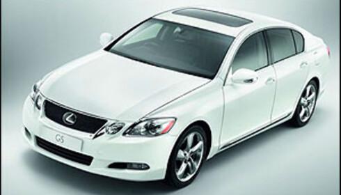 Lexus oppgraderer GS