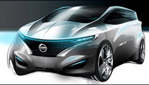 Nissan med familiekonsept
