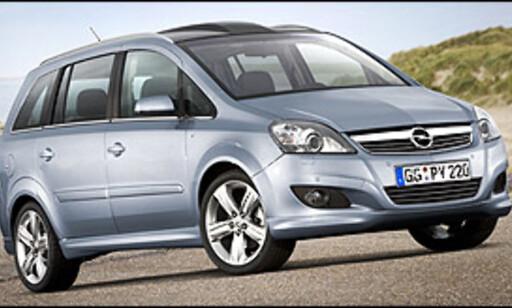 image: Opel Zafira finpusses