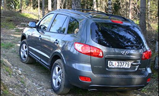 Hyundai Santa Fe er høyaktuell for det nye Haldex-systemet