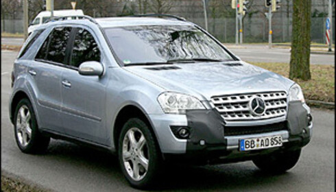 Mercedes ML fornyes