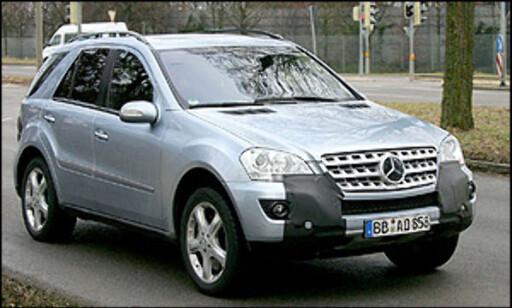 image: Mercedes ML fornyes