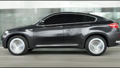 BMW X6 blir SUC nummer 2 på markedet.