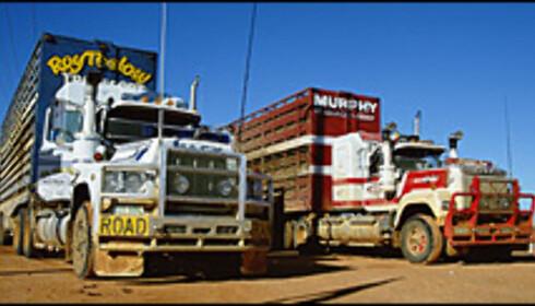 Roadtrains: 500-tonns lastebiler fra Australia