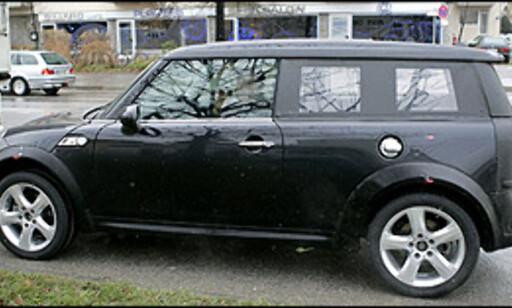 image: Mini-SUV på vei