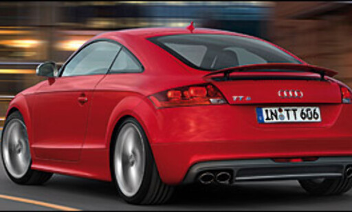 image: Audi TT-versting klar