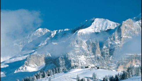 Alta Badia skiområde.