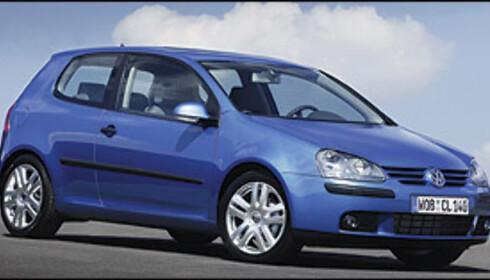 Volkswagen Golf tok andreplassen blant de mest solgte.