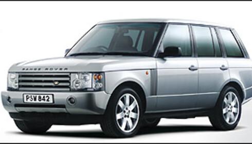 Land Rover Range Rover ble solgt i 95 eksemplarer