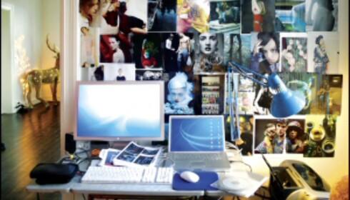 <strong>To av fellesnevnerne på ett brett:</strong> Mac i forgrunnen og lysgren bak til høyre, ved hjorten. <i>Foto: Erle Kyllingmark</i> Foto: Erle Kyllingmark/IKKE BRUK