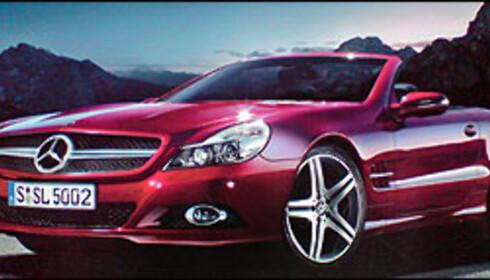 Mercedes SL avslørt