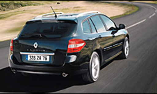 Nye Renault Laguna introduseres i Norge i disse dager.
