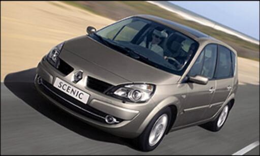 Fleksibilen Renault Scenic finnes i to utgaver; vanlig og Grand.