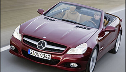 Oppgradert Mercedes SL offisiell