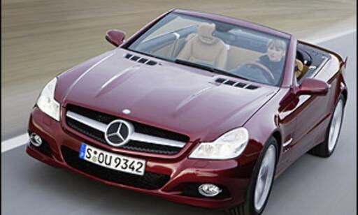 image: Oppgradert Mercedes SL offisiell