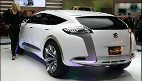 Stor Suzuki med V8