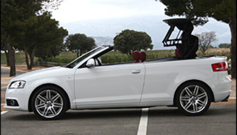 PRØVEKJØRT: Audi A3 Cabriolet