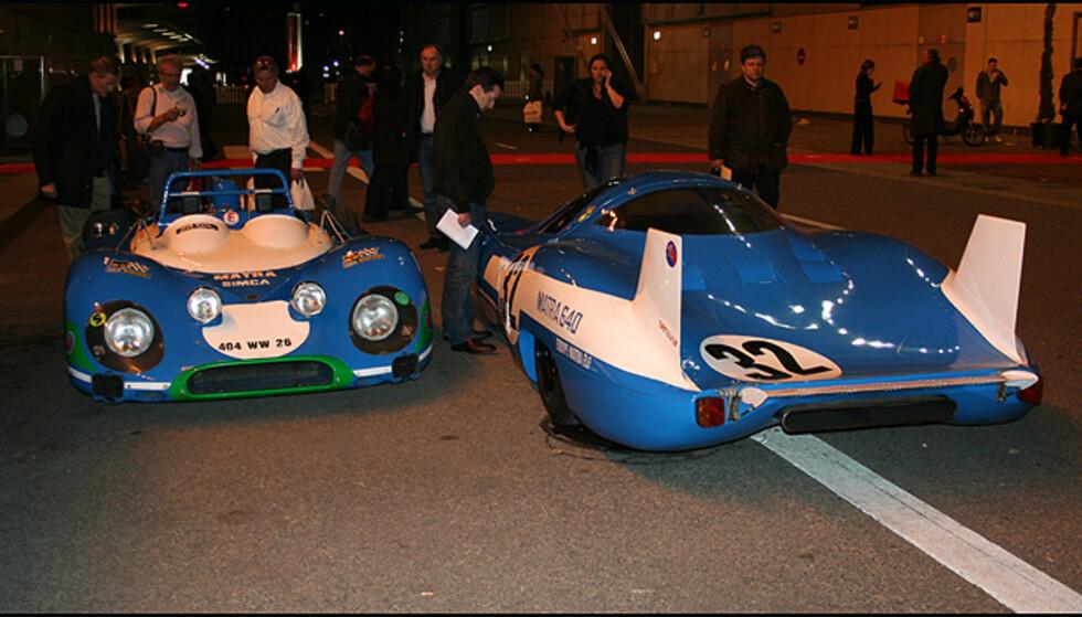 Le Mans-løpsbilen Matra 640 som ble kjørt av Pescarolo og Jabouille