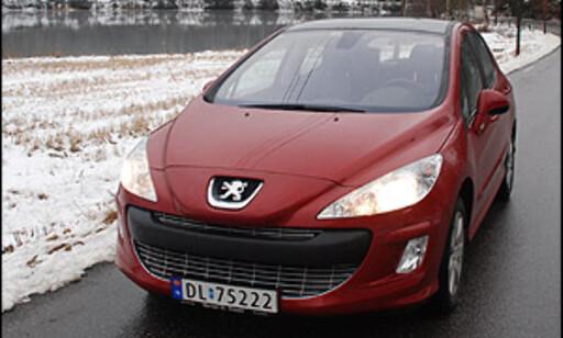 image: TEST: Peugeot 308 1.6 HDi - ny kompaktfavoritt