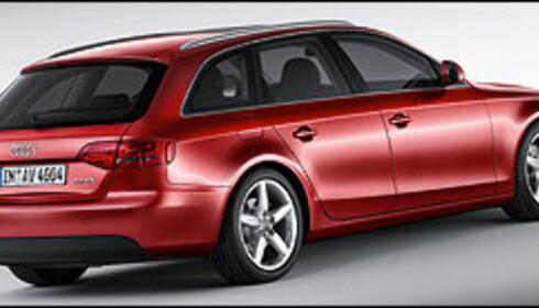 Ny Audi A4 stasjonsvogn