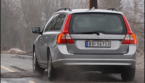 TEST: Volvo V70 på billigsalg