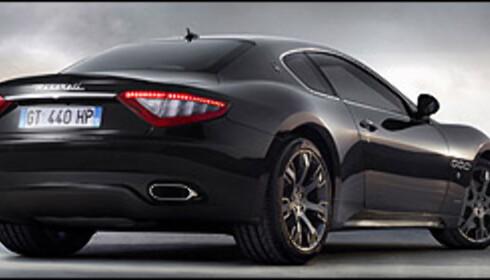 Maserati med enda heftigere kupé