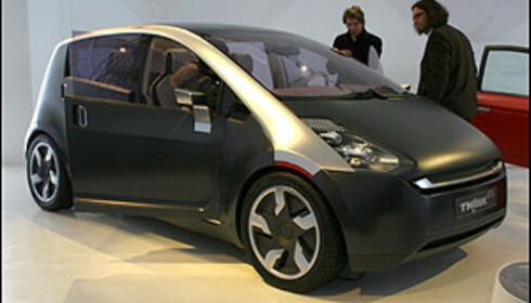 Norske Think viser denne konseptbilen i Genève: Think Ox, en elbil for familien.