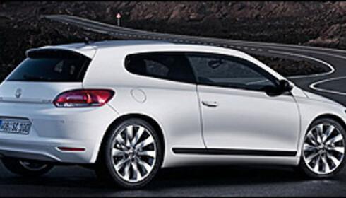 Volkswagen Scirocco offisiell