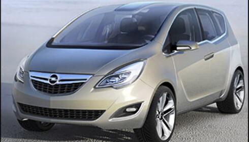 Neste Opel Meriva konseptvises