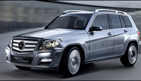 Mercedes GLK dieselhybrid