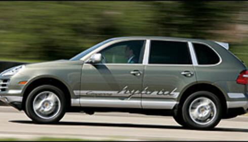 Mer hybrid fra Porsche
