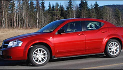 TEST: Nye Dodge Avenger - alternativt i mellomklassen