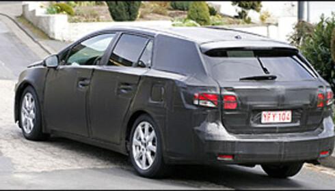 Ny Toyota Avensis nærmer seg