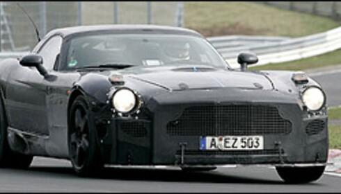 Mercedes tester ny supersportsbil