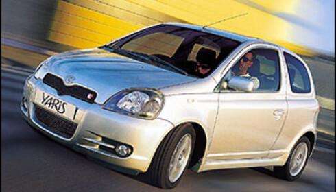 7-ÅRING Å STOLE PÅ: Toyota Yaris