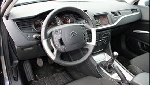 Nye Citroën C5 priset
