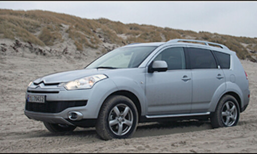 image: TEST: Citroën C-Crosser