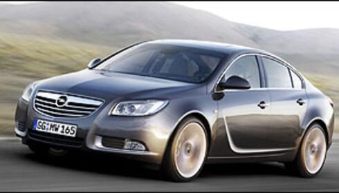 Gedigen vogn fra Opel