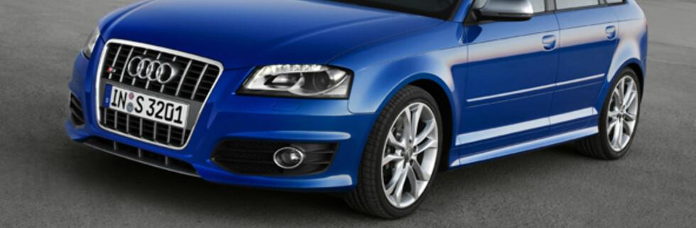 Audi S3 Sportback akselererer fra null til hundre på 5,8 sekunder. Foto: Foto: Audi
