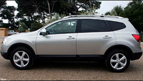 Nissan Qashqai +2 - en fullverdig folke-SUV med 5+2 seter.